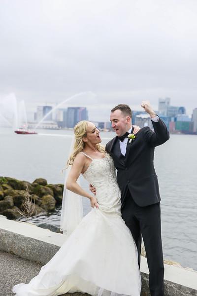 Erin & Patrick's Elegant Boston Harbor Wedding