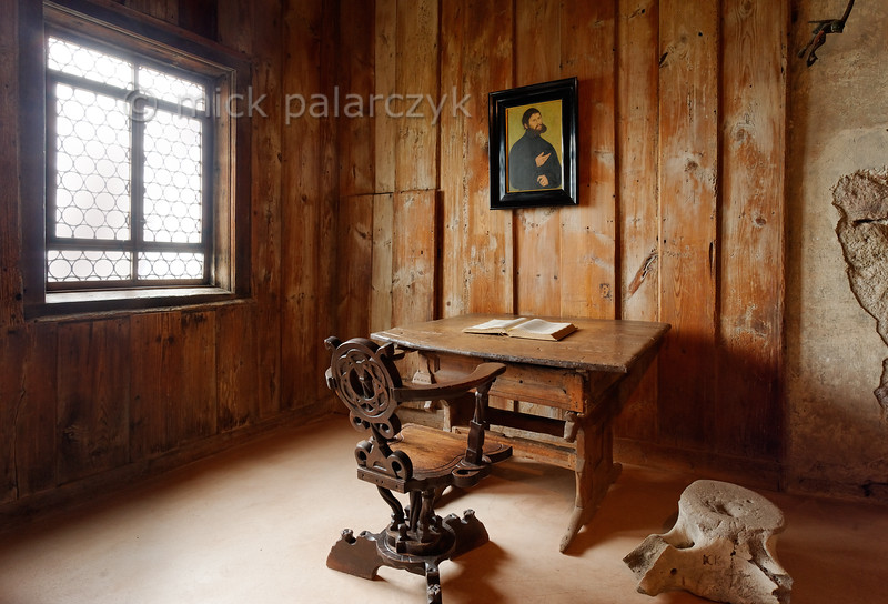Luther Room in the Wartburg.