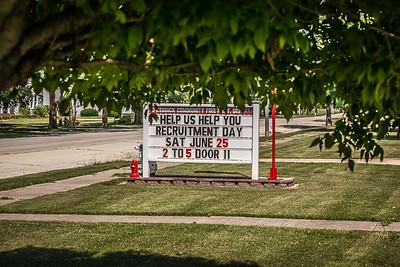 Recruitment Day at Reddick Fd
