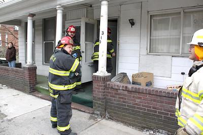 Burning Odor Response, East Broad St, Tamaqua (2-12-2011)