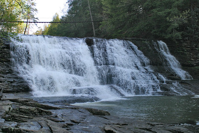 Waterfall: Cane Creek Cascades