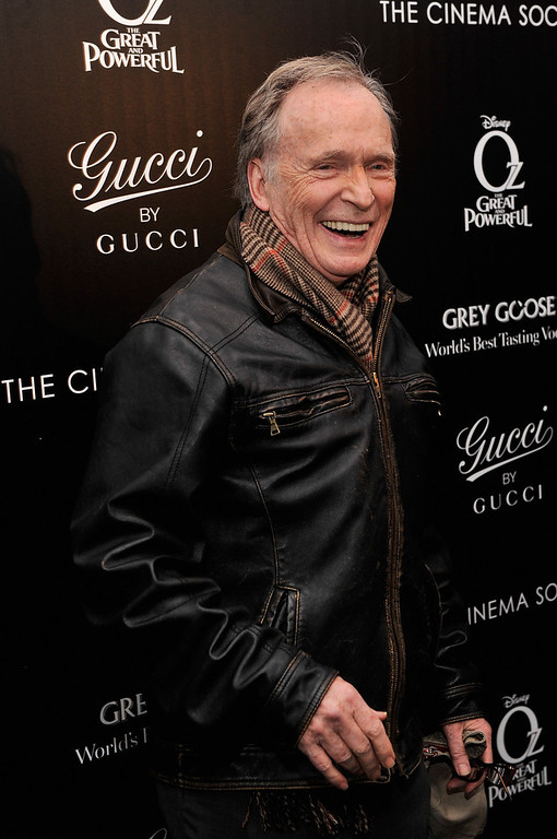 ". Tv Personality Dick Cavett attends the Gucci and The Cinema Society screening of ""Oz the Great and Powerful\"" at DGA Theater on March 5, 2013 in New York City.  (Photo by Stephen Lovekin/Getty Images)"