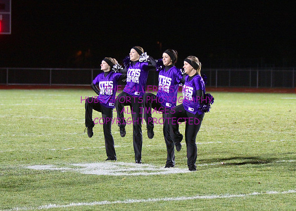 2012 RTHS MARCHING BAND PREFORMS @ DEKALB GAME + SENIOR NIGHT AND POMS