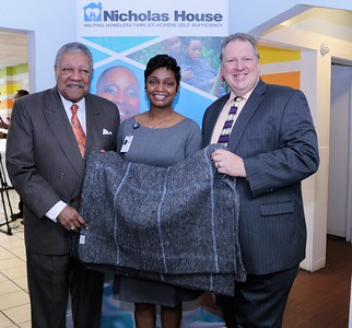 Chairman Pitts & Indo-American Community Blanket Drive