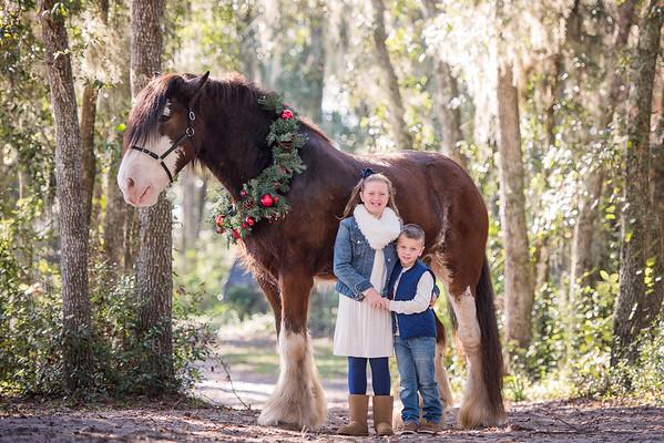 Clydesdales Nov 2018 Kessler Family