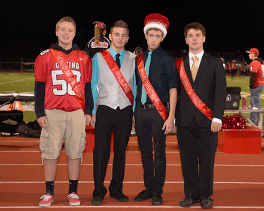 Orting Homecoming Court 2014