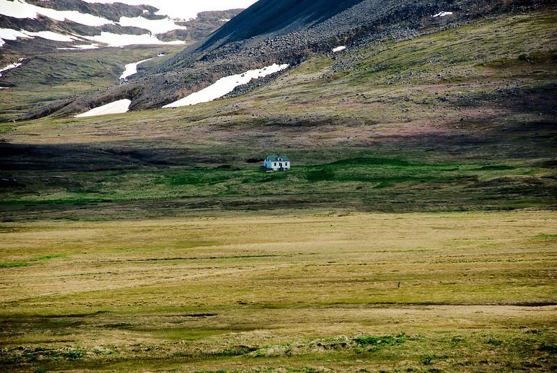 Aðalvík - Þverdalur. Faktorshús. 2013.