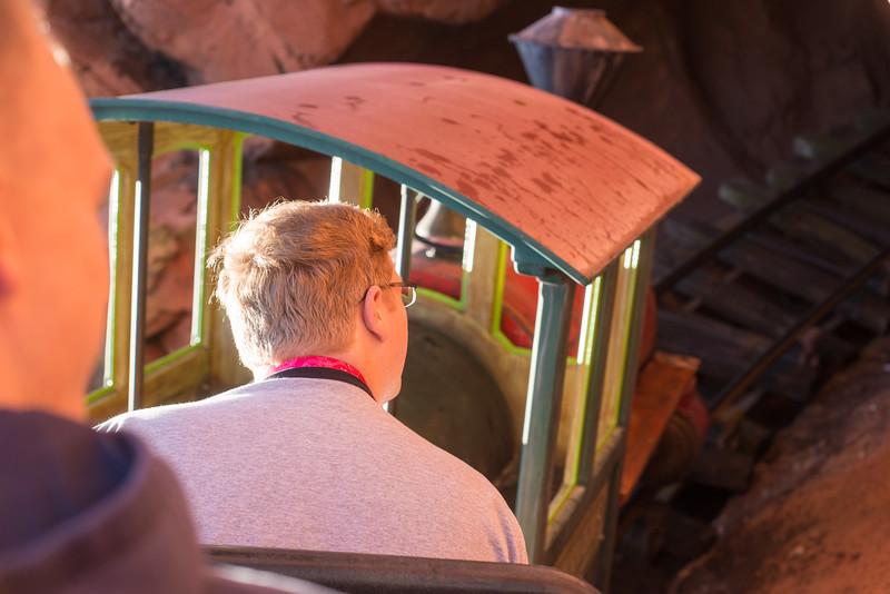 Big Thunder Mountain Railroad - We're OFF! - Magic Kingdom Walt Disney World