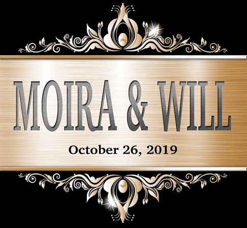 Wedding of Moira & Will October 26, 2019 (Prints)
