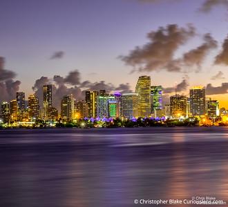 Miami City Sunset 1