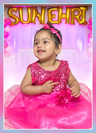 1st Birthday Sunehri