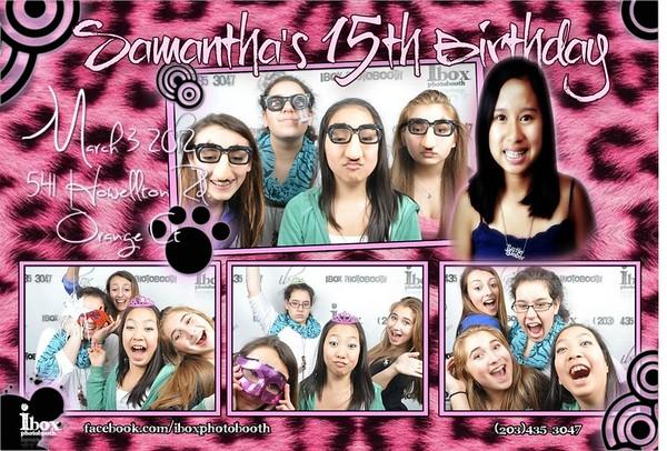Samantha's 15th Birthday