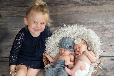 Baby Twins Ava & Hudson