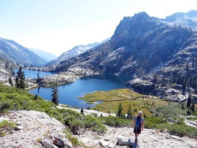 Trinity Alps, Canyon/Boulder Creek Lakes: Sep 12-15, 2013