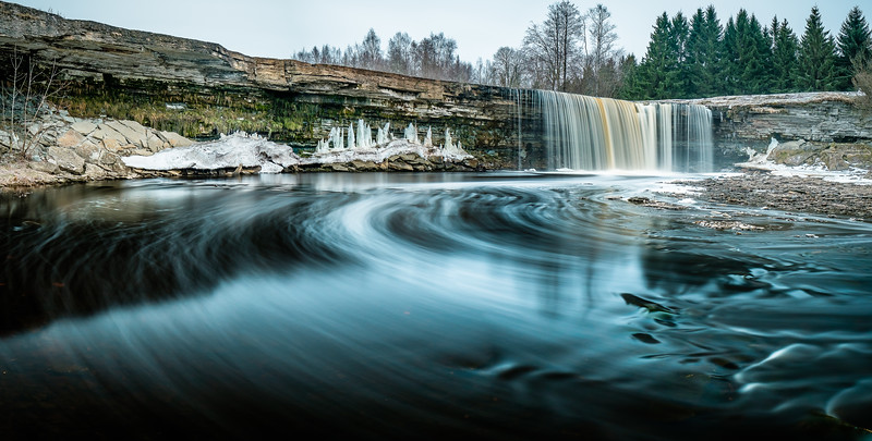 PANORAMIC WATERFALL