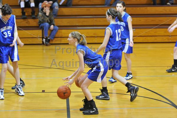 8th grade girls bball vs dakota  3.5.11