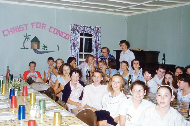 1958 Camp Pajamas party.jpg