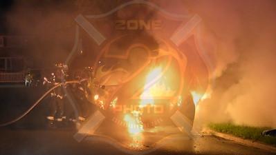 North Babylon Fire Co. Signal 14  I/F/O 35 Jerome Ave. 7/16/16