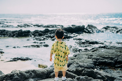 Iwasaki Family // Four Seasons Hualalai