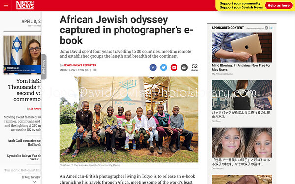Jewish News UK. March 12, 2021. London, England.