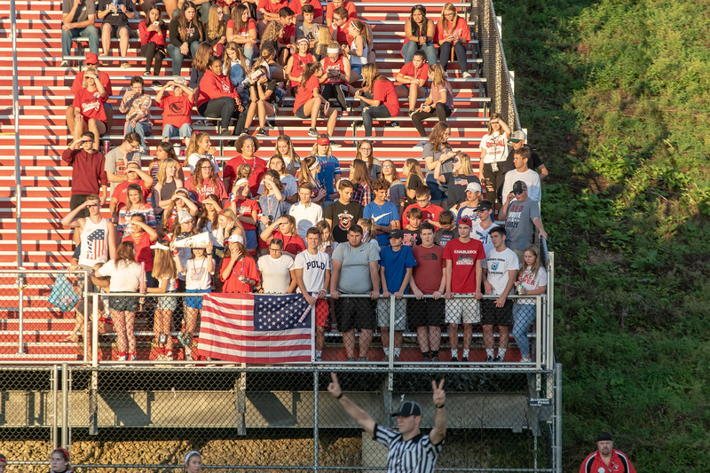 9.14.18 Frazier at Charleroi W56-7 (Cheer and Crowd)