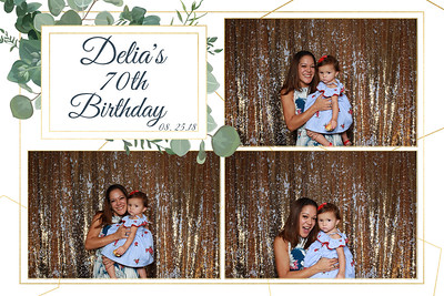 Delia's 70th Birthday