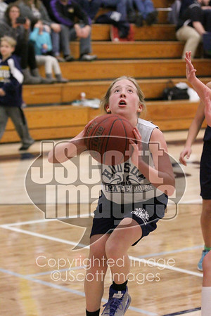 2018-01-24 Pee Wee Girls Basketball