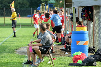 HS Sports  -  Riverview at Grosse Ile Boys' Soccer 19