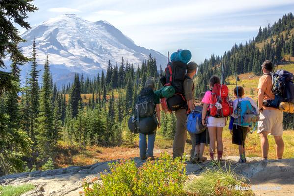 Mt. Rainier NP - Naches / Dewey Lake Loop (August 2015)