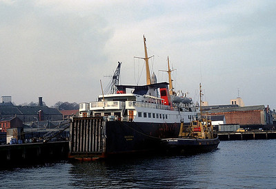 Clyde Shipping in 1982