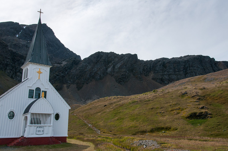The Norwegian Church in Grytviken, South Georgia Island