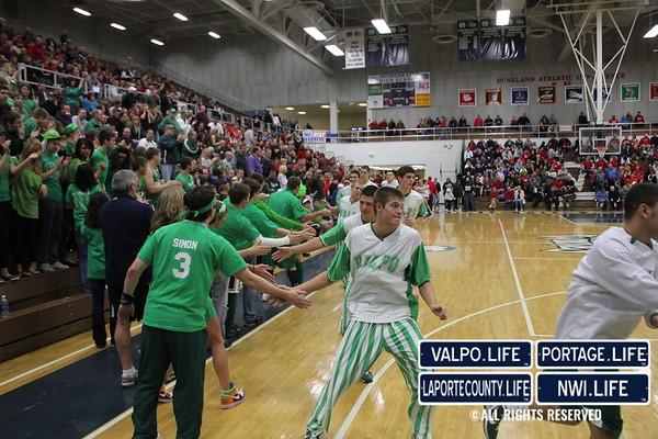 VHS Boys Basketball Regional Championship vs Munster 2011