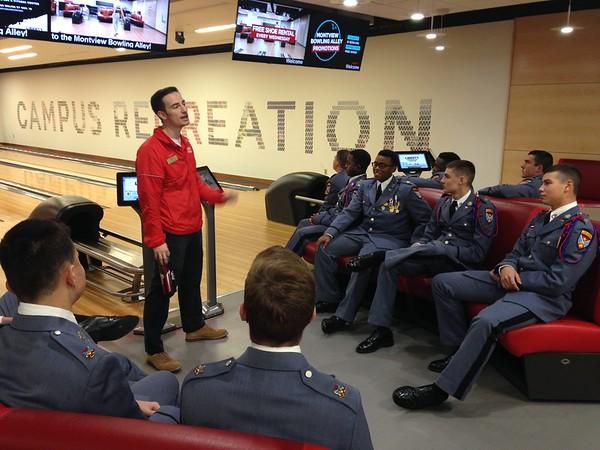Cadets visit Liberty University