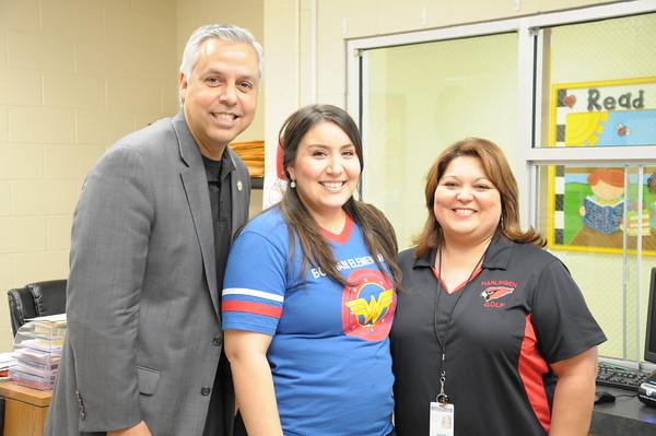 Dr. Cavazos Visits Bon Sep 2015