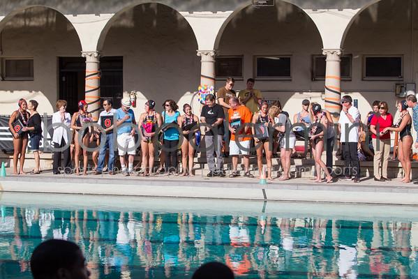 Oxy Women's Water Polo vs CMS 4-16-14
