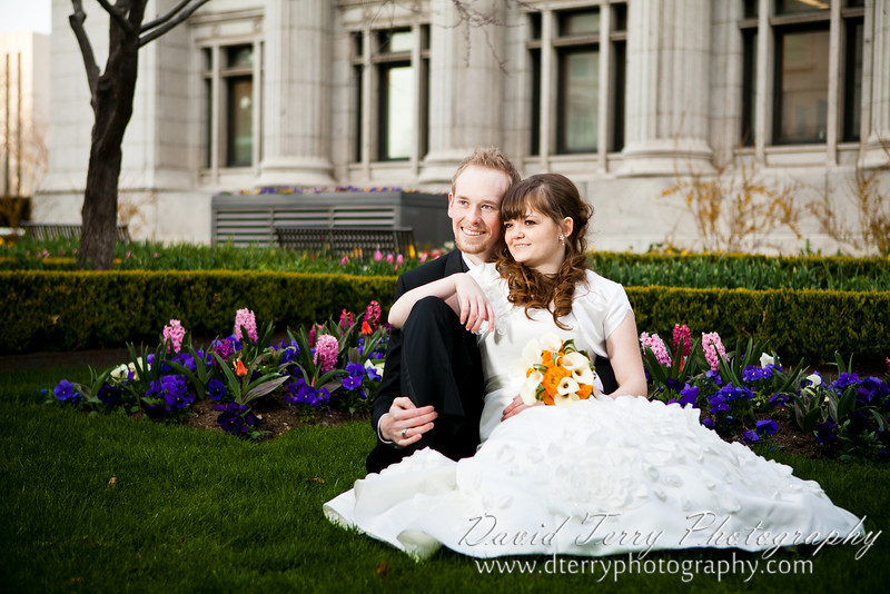 David Terry Photography - Emily and Garrett Formals Session at Joseph Smith Memorial Building