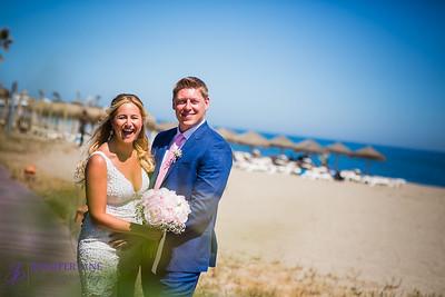 Emma and Nick - La Playa, Cabopino Beach