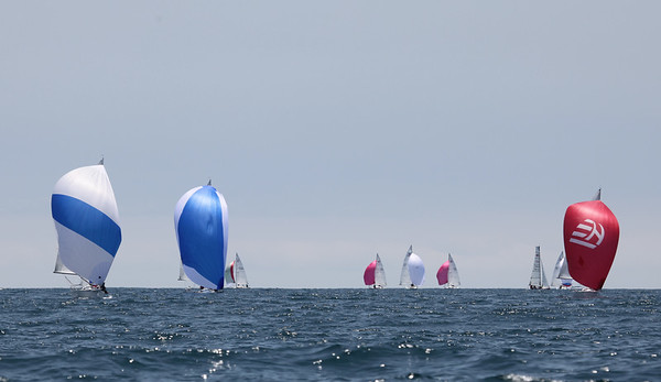 Cal Race Week Sunday J 24's and J 80's