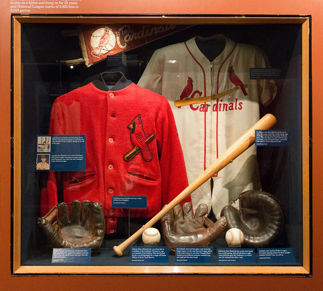 19402-1960s Cardinals memorabilia -- A trip to the Baseball Hall of Fame, Cooperstown, NY, June 2014
