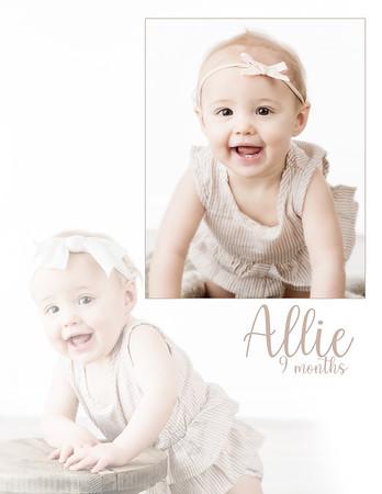 Allie 9 Months