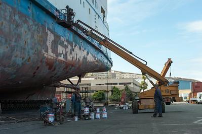 2014-06 Drydock Work Shots