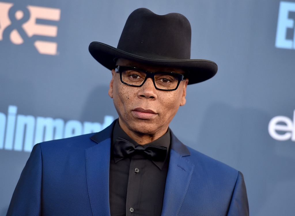 . RuPaul arrives at the 22nd annual Critics\' Choice Awards at the Barker Hangar on Sunday, Dec. 11, 2016, in Santa Monica, Calif. (Photo by Jordan Strauss/Invision/AP)