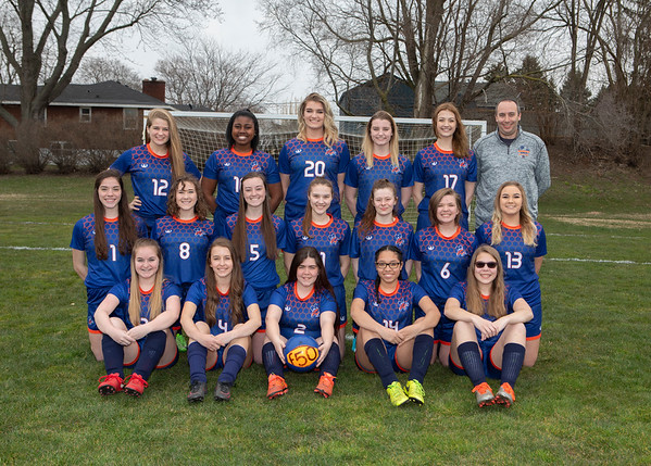 2018 Bridgman Soccer Girls