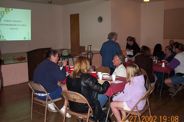 2002-02-27 Community Dinner
