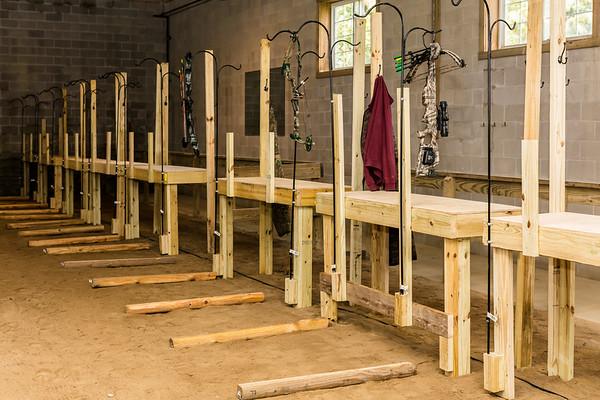 Indoor 3D Archer Range Full Set Up
