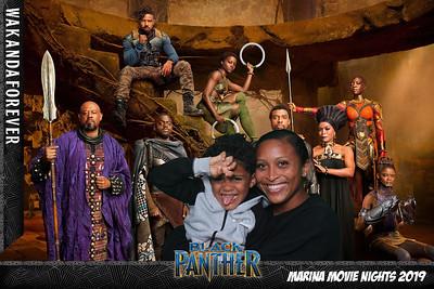 Marina Movie Nights 2019 - Black Panther