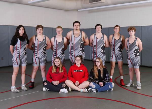 SNHS Wrestling Team 2020-2021