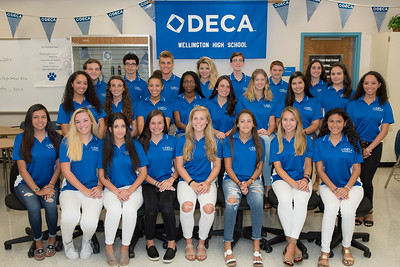 Wellington DECA 2017-2018 Board Members