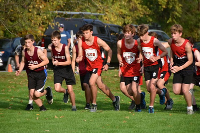 LTS Boys X-C At Home photos by Gary Baker