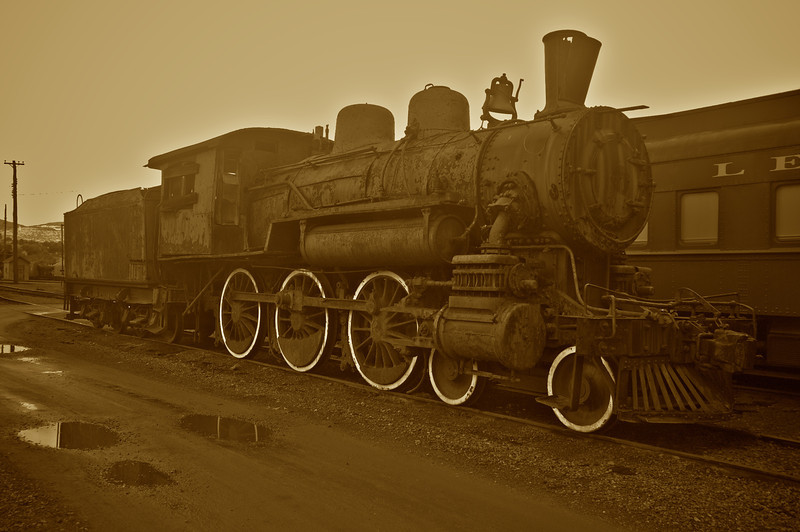 Steamtown Locomotive
